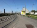Fin de la rue Lamartine en direction de la gare des Aubrais