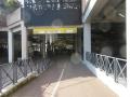 Piste cyclable en direction de la gare d'Orléans