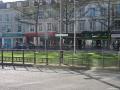 A la sortie de la gare d'Orléans, jalonnement vers la Loire à vélo.