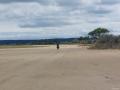 Raccourci par la plage en allant vers Leucate