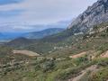 Montée au col du Grau de Maury (Quéribus)