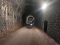 Tunnel sur la voie verte Foix - Saint-Girons