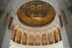 Mosaique de l'oratoire de Germigny-les-près